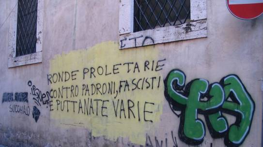 The Graffiti Walls of the Eternal City