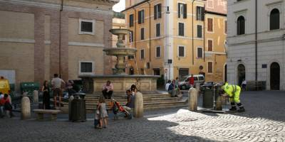 Where Angels Come To Earth: An Evocation of the Italian Piazza