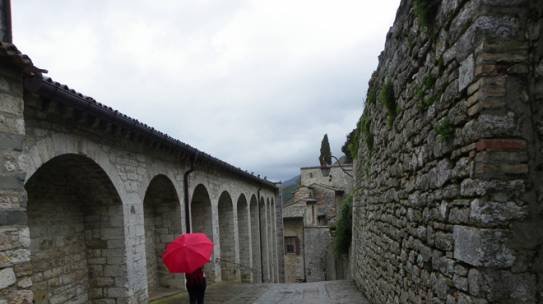 Rainy Day in Gubbio