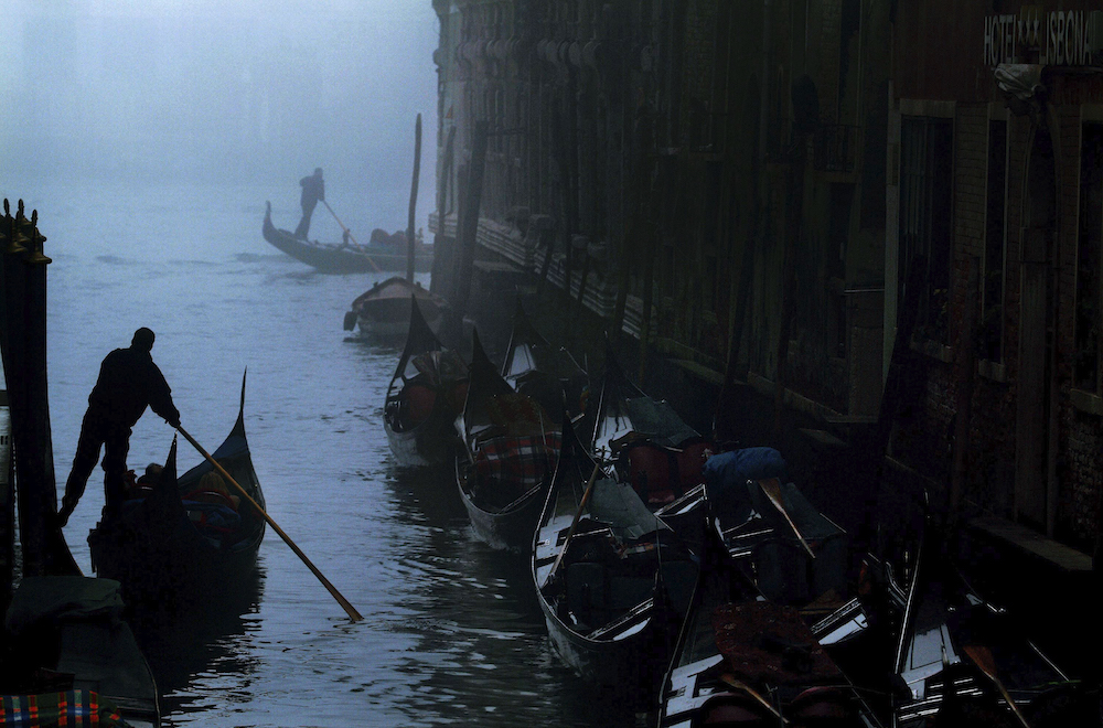 Venice in the Fog